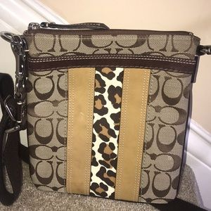 Cross body Coach bag never used